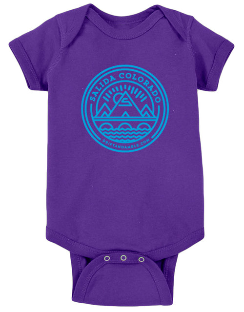 "Baby Salida ""S"" Mountain One-Piece"