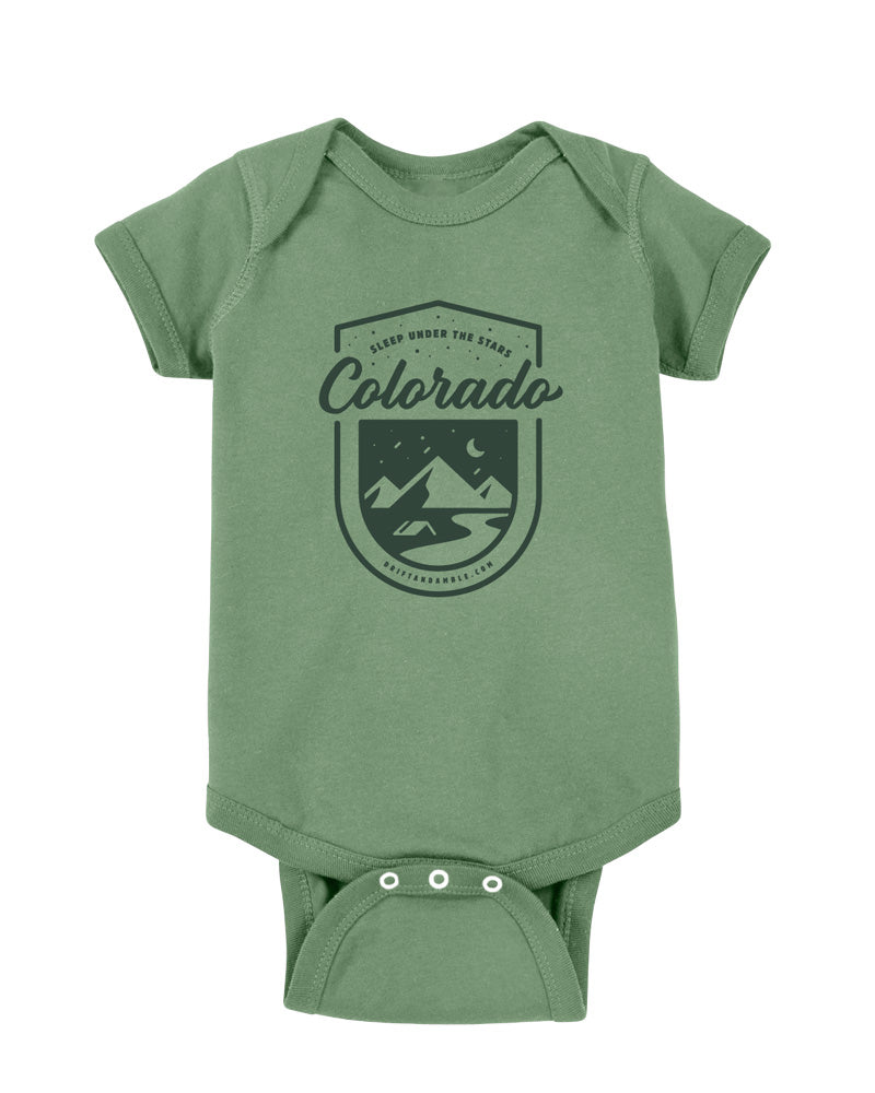 "Baby ""Colorado Stars"" One-piece"