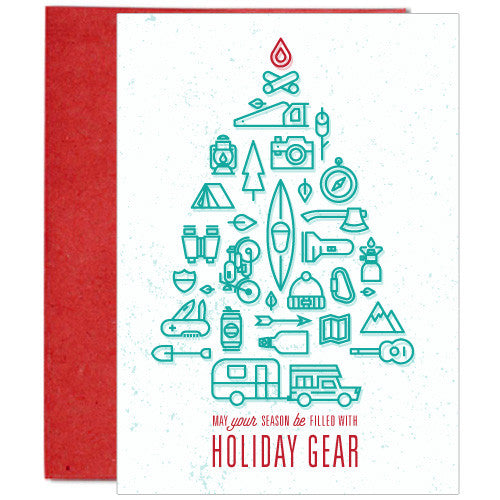 Filled with Holiday Gear Card