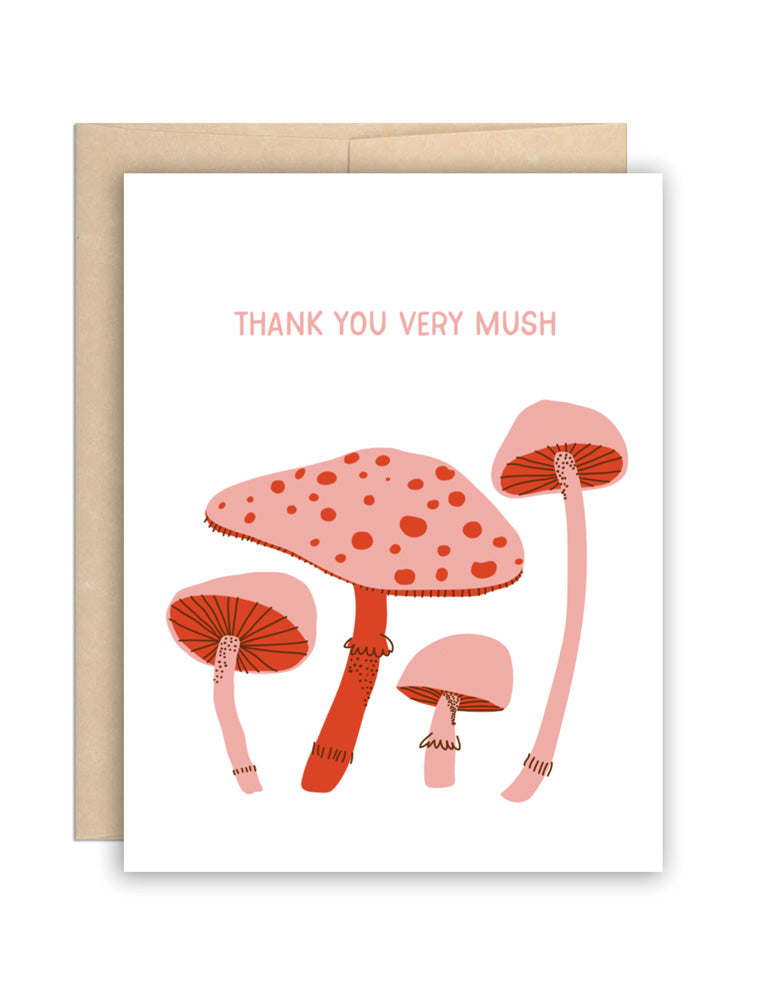 Thank You Very Mush Card
