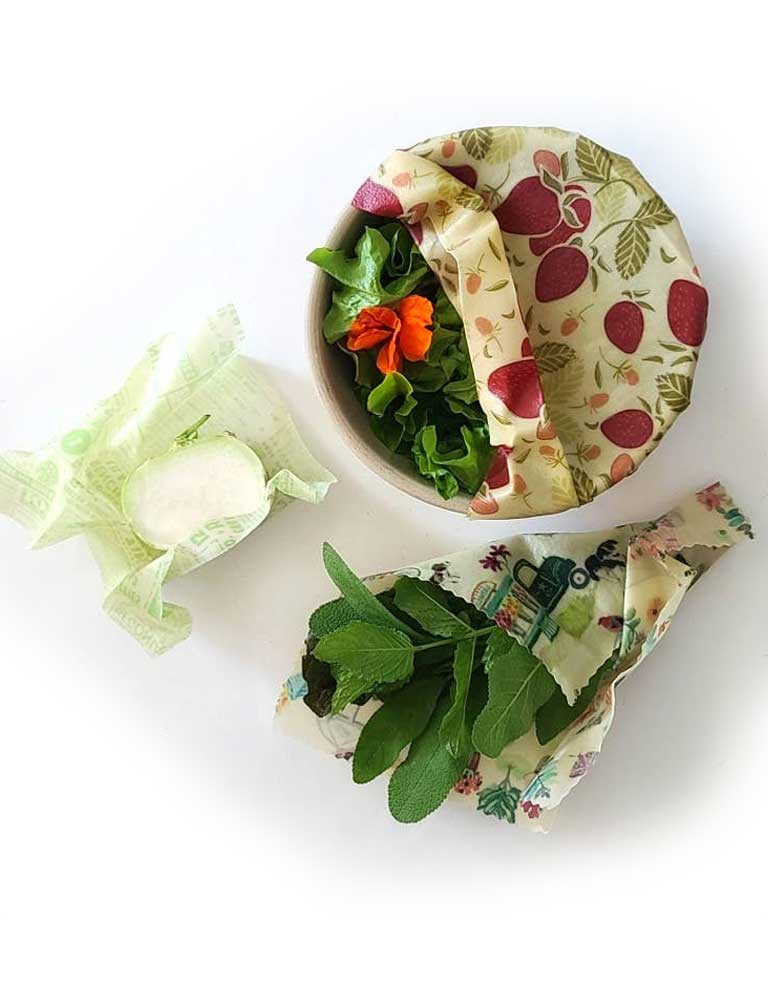 Reusable Bee Wax Food Wraps