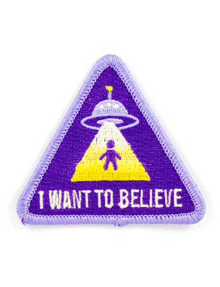 Believe Embroidered Iron-On Patch