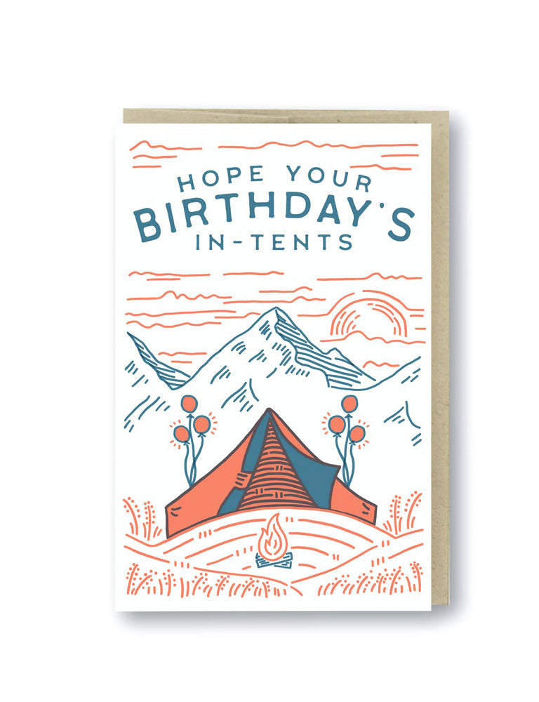 Birthday In Tents