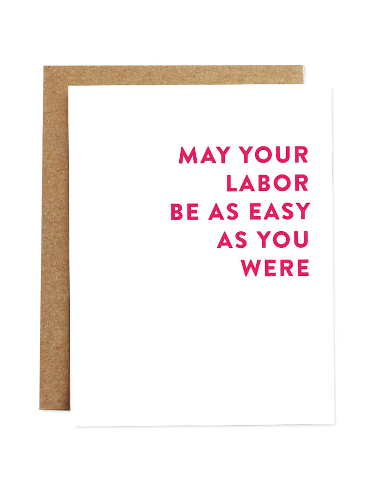 May Your Labor