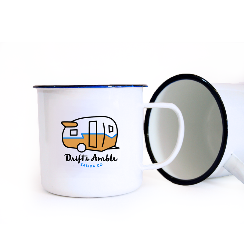 Drift & Amble Enamel Mug