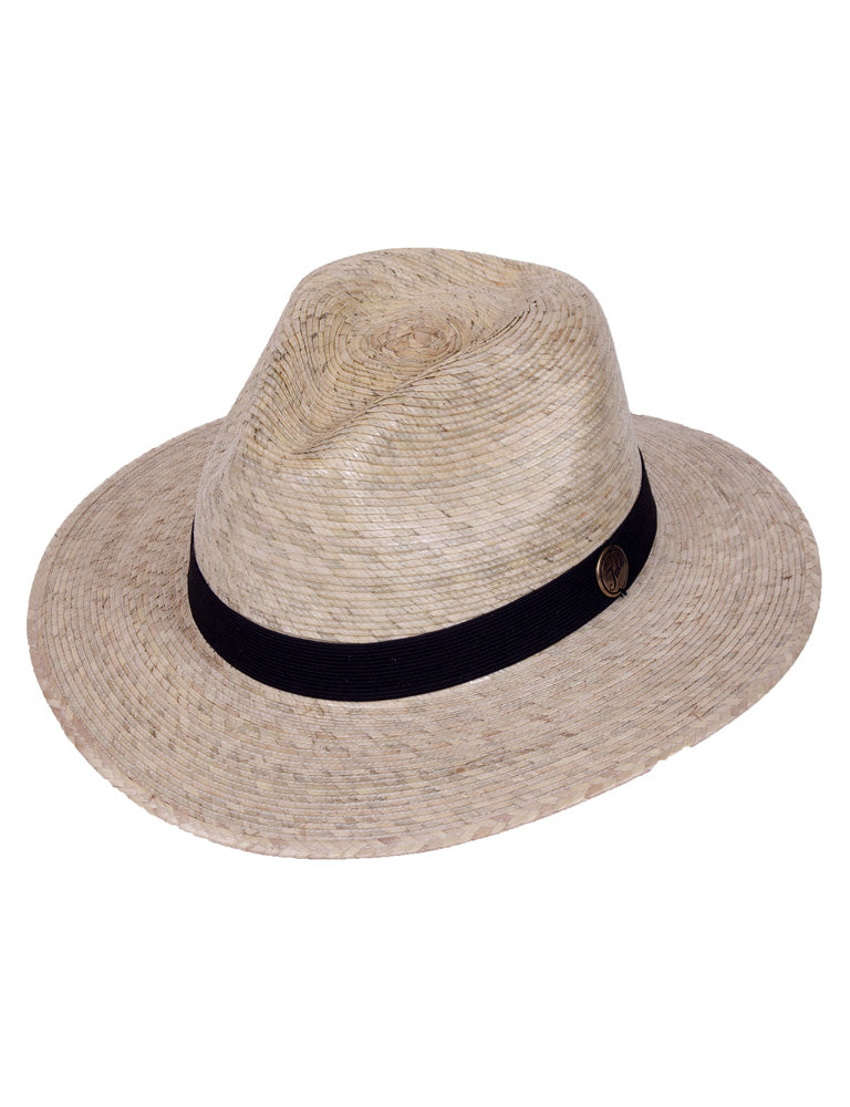 Explorer Black Band Straw Hat