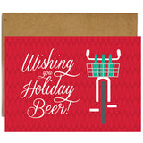 Wishing You Holiday Beer Card