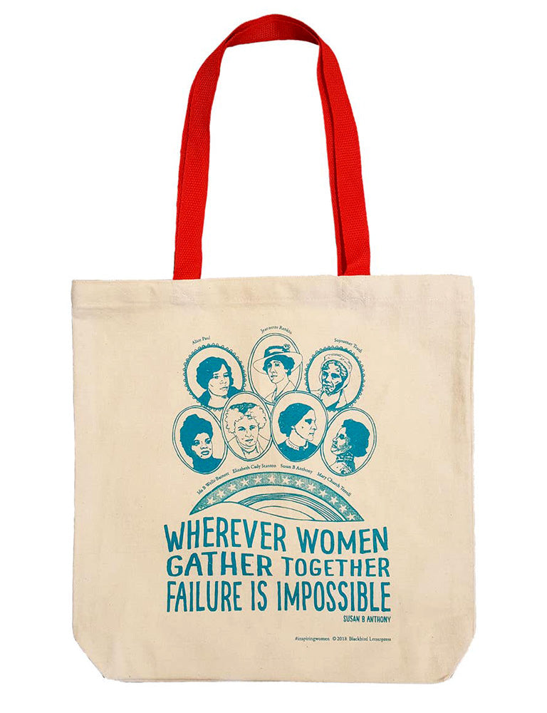 Inspiring Women Canvas Tote