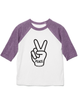 Kid's Peace Baseball T-shirt