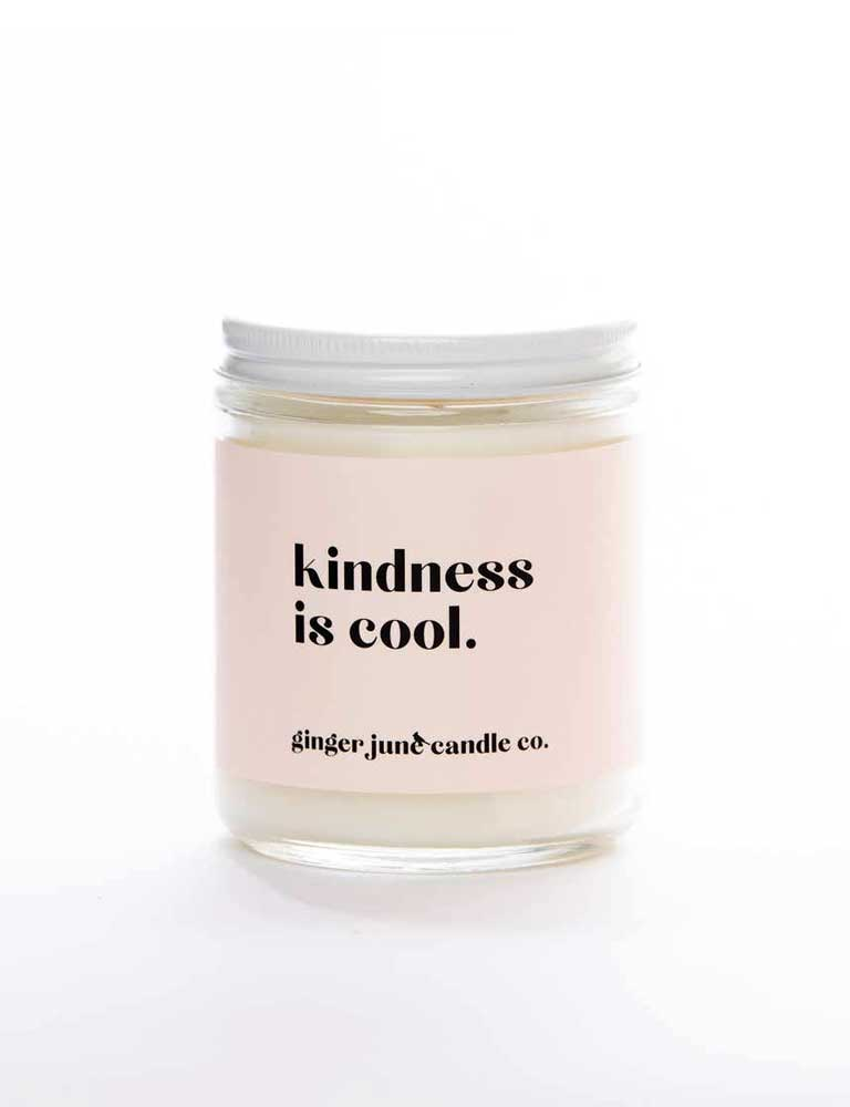 Kindness Is Cool Non Toxic Soy Candle
