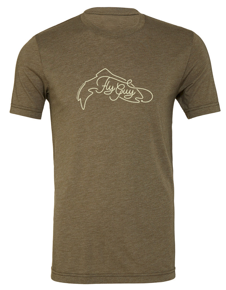 "Unisex ""Fly Guy"" Trout T-shirt"
