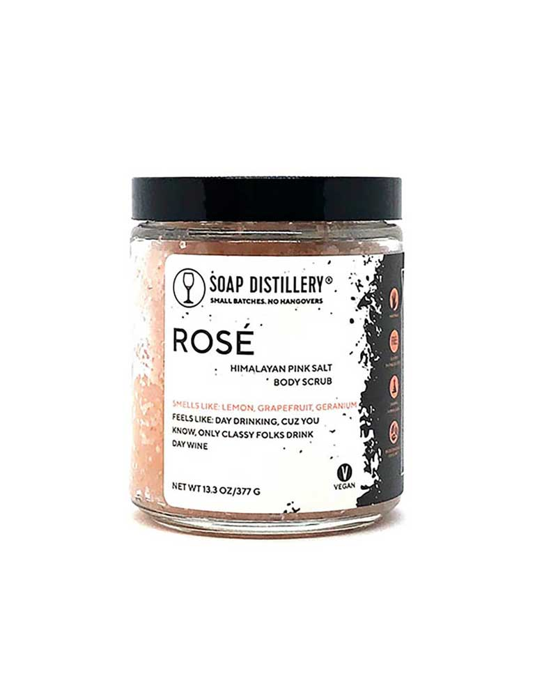 Rose´Pink Salt Body Scrub