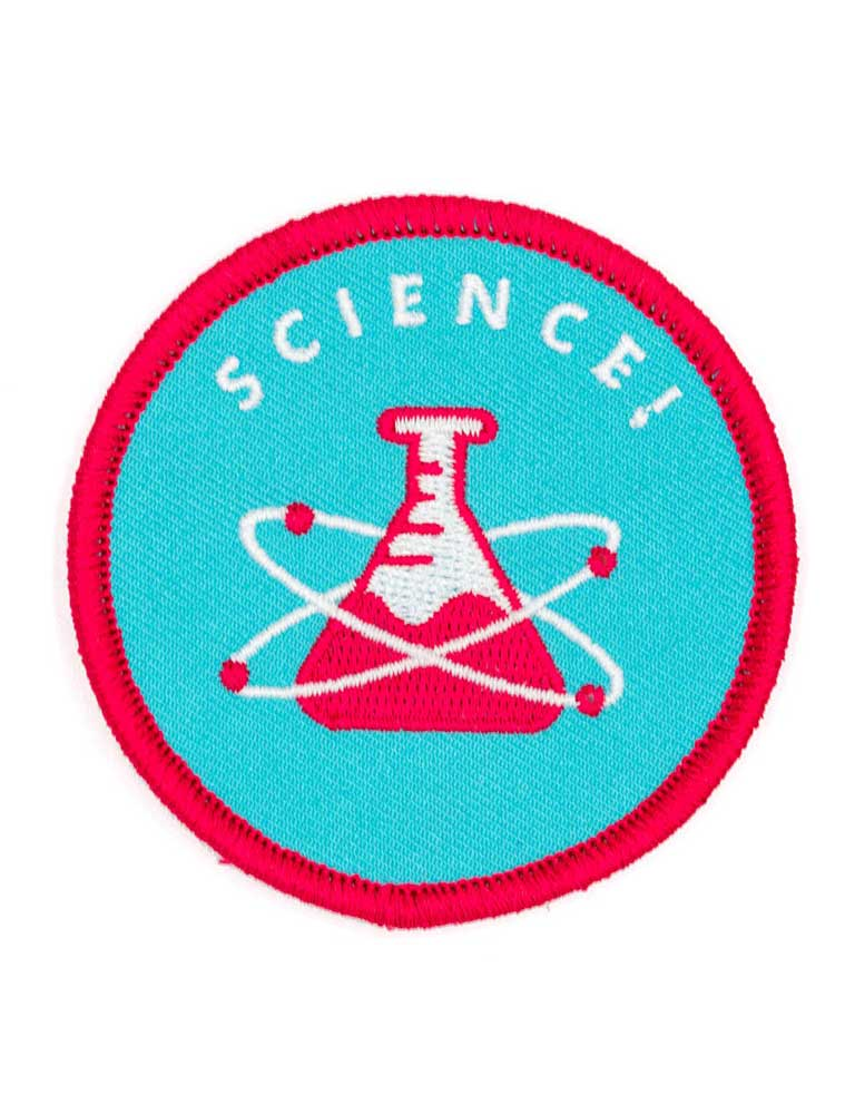 Science Embroidered Iron-On Patch