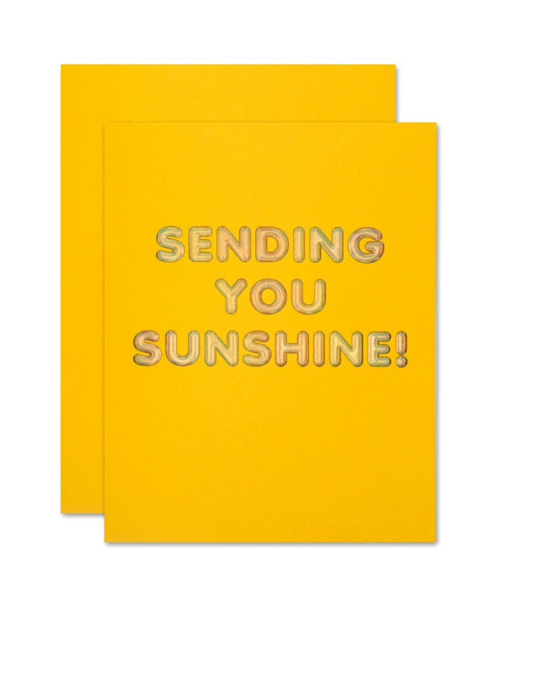 Sending You Sunshine Card