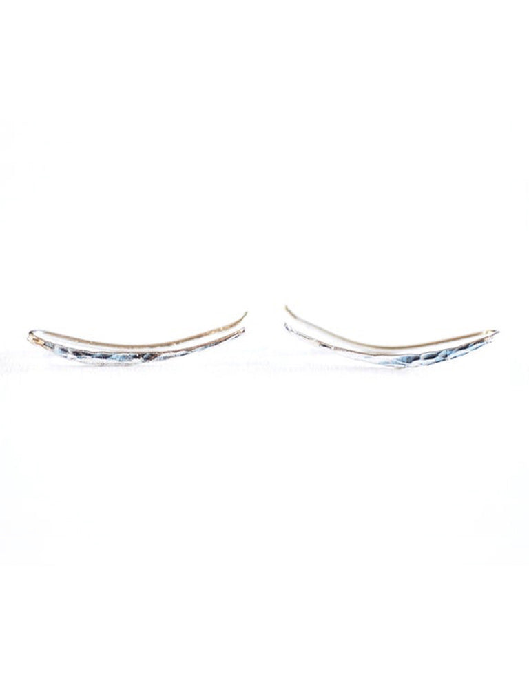 Sterling Silver Moon Ear Crawler