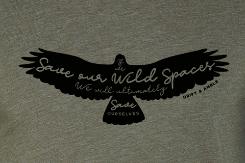 Unisex Wild Spaces T-shirt