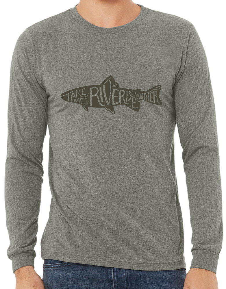 Unisex Trout Long Sleeve T-Shirt