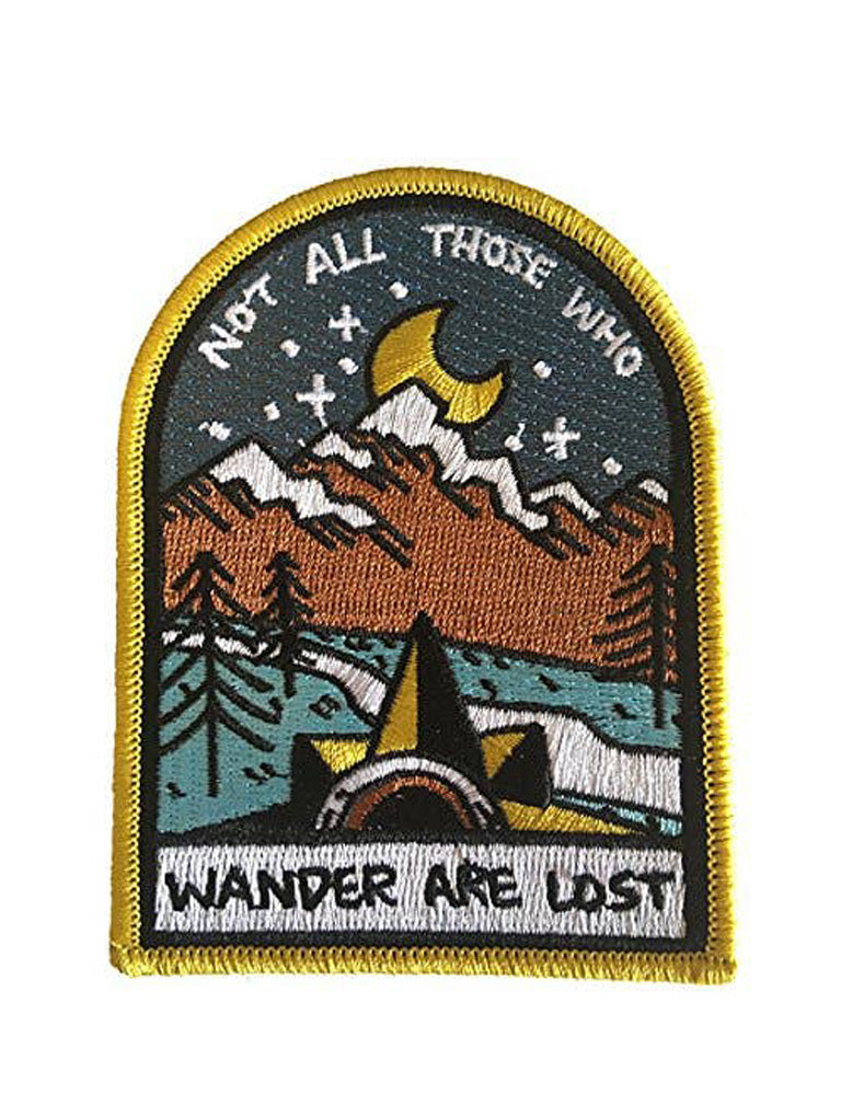 Not All Those Whoe Wander Patch