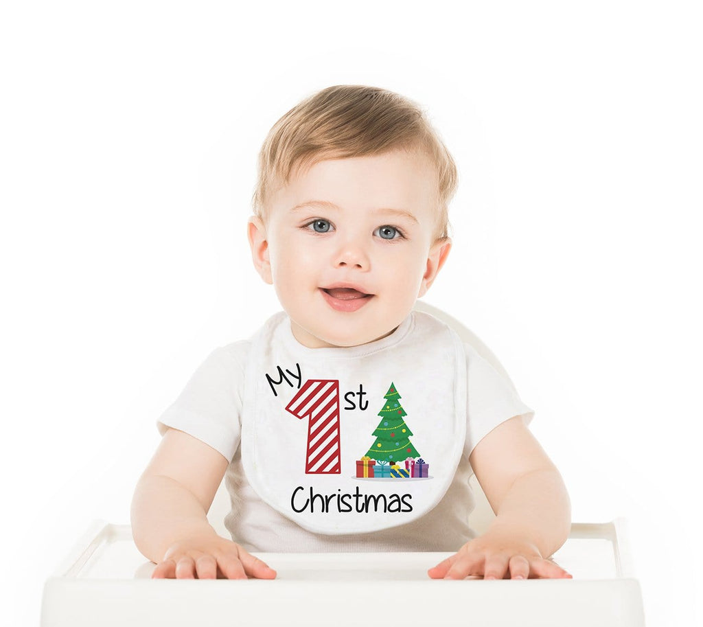 My First Christmas Baby Bib - Potter's Printing