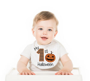 My First Halloween Baby Bib - Potter's Printing