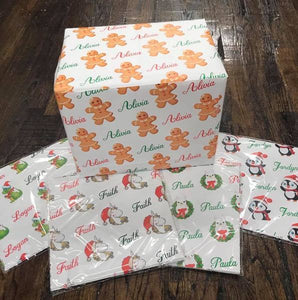 Personalized Gift Wraps (Bundle Deals) - Potter's Printing
