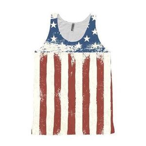 American Flag Tank Top - Potter's Printing