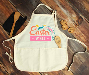 Happy Easter Y'all Personalized Apron - Potter's Printing