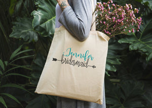 Bridesmaid Tote Bag - Potter's Printing