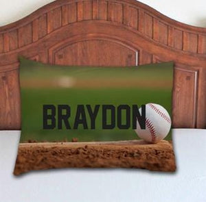 Baseball Personalized Pillowcase - Potter's Printing
