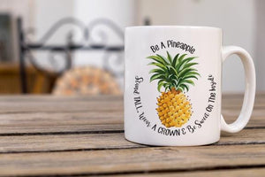 Be A Pineapple Coffee Mug - Potter's Printing
