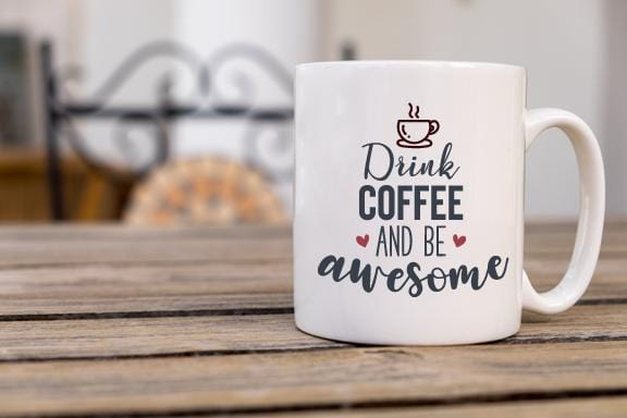 Be Awesome Coffee Mug - Potter's Printing