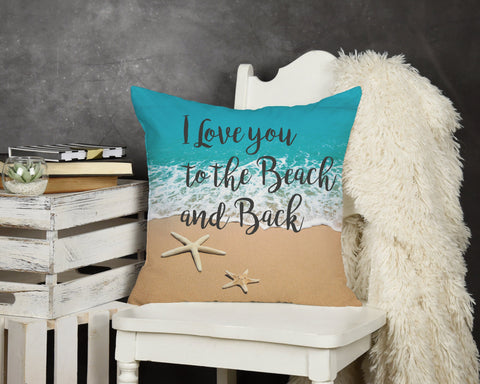 Think Happy Throw Pillow
