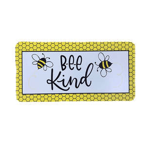 Bee Kind Wreath Sign