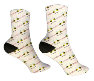 Bee Mine Personalized Valentine Socks - Potter's Printing