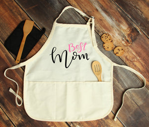 Best Mom Personalized Apron - Potter's Printing
