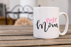 Best Mom Coffee Mug - Potter's Printing
