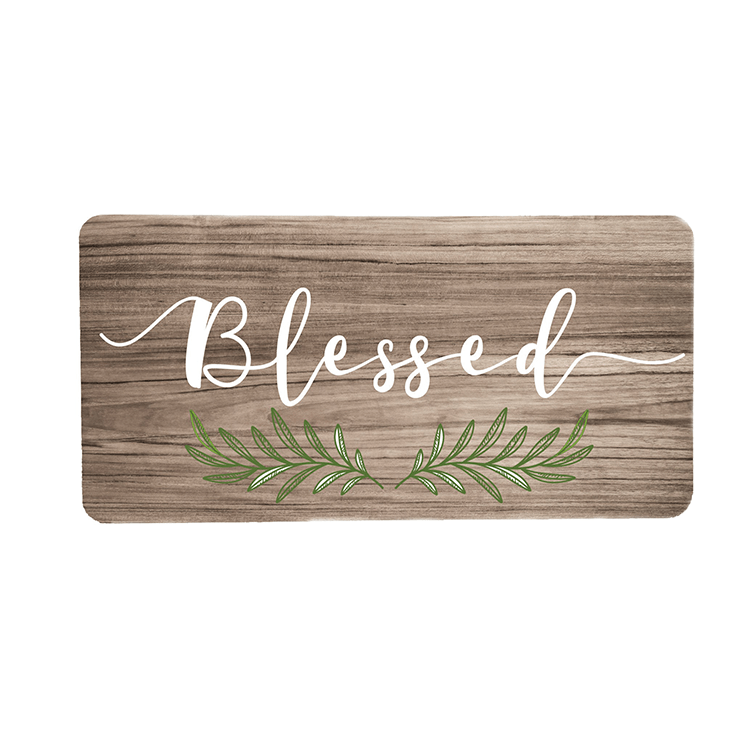 Blessed Wreath Sign