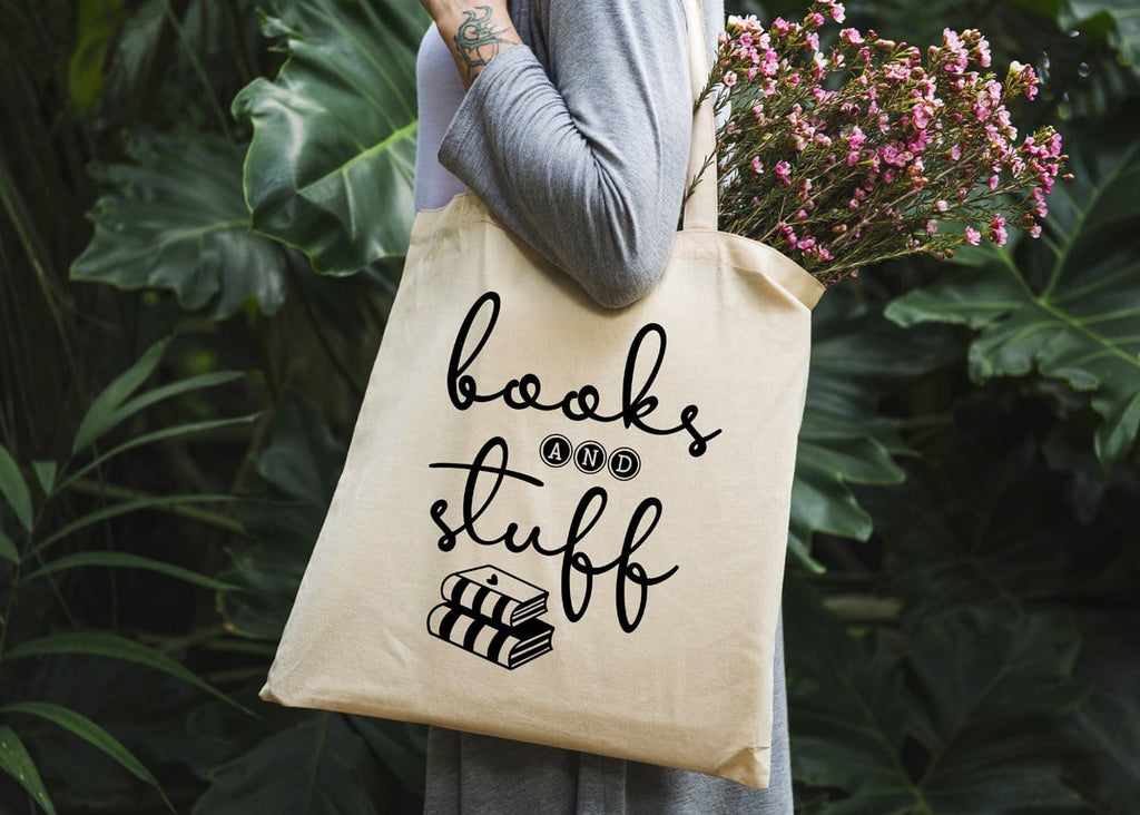 Books & Stuff Tote Bag - Potter's Printing