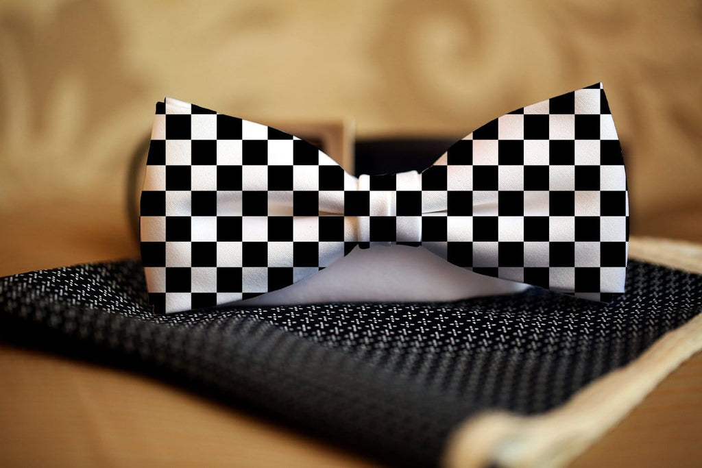 Checkered Bow Tie - Potter's Printing