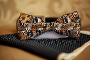Dogs Bow Tie - Potter's Printing
