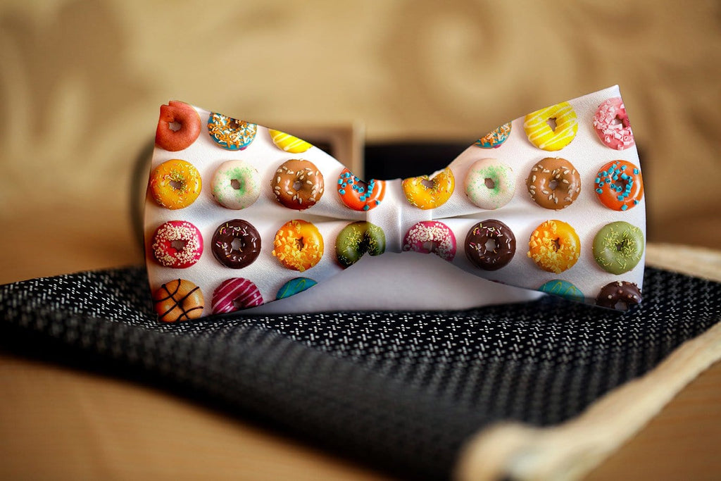 Donuts Bow Tie - Potter's Printing