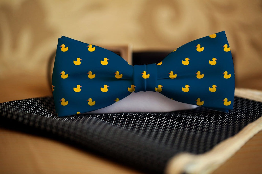Rubber Duck Bow Tie - Potter's Printing