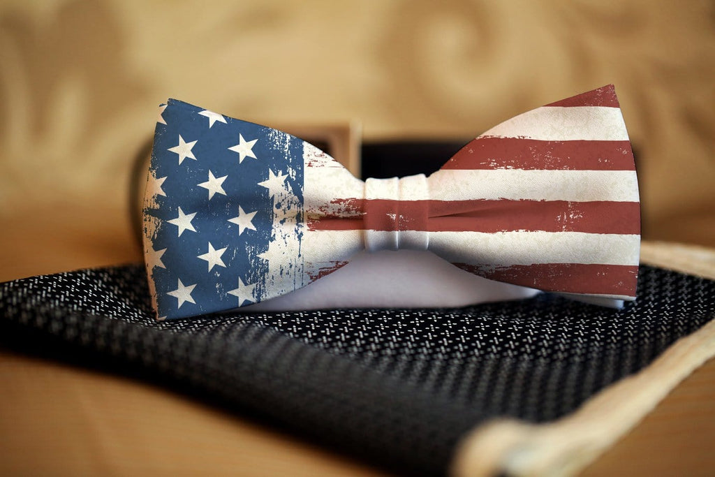 American Flag Bow Tie - Potter's Printing