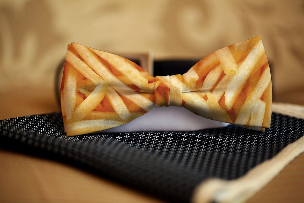 French Fry Bow Tie - Potter's Printing