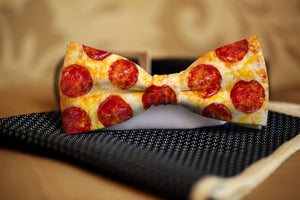 Pizza Bow Tie - Potter's Printing