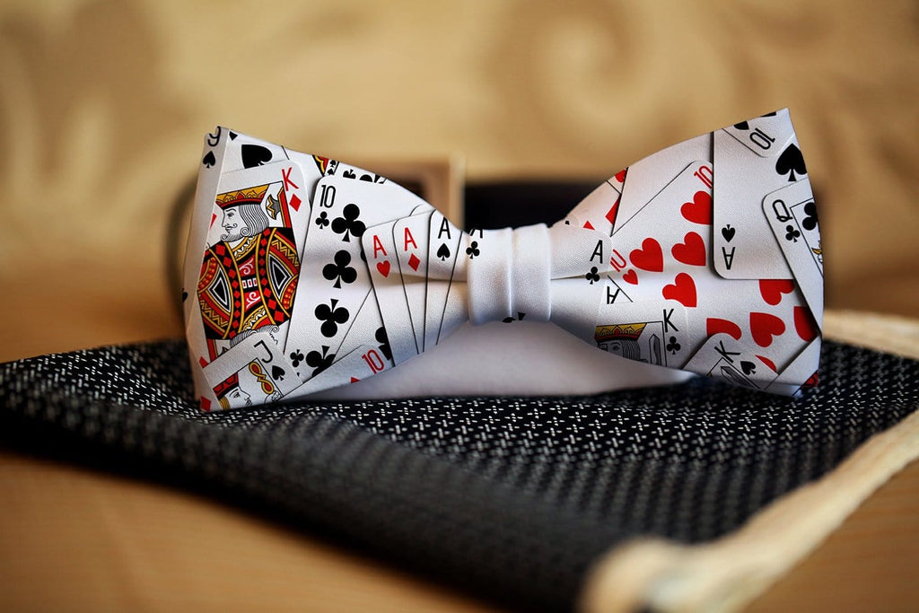 Playing Card Bow Tie - Potter's Printing