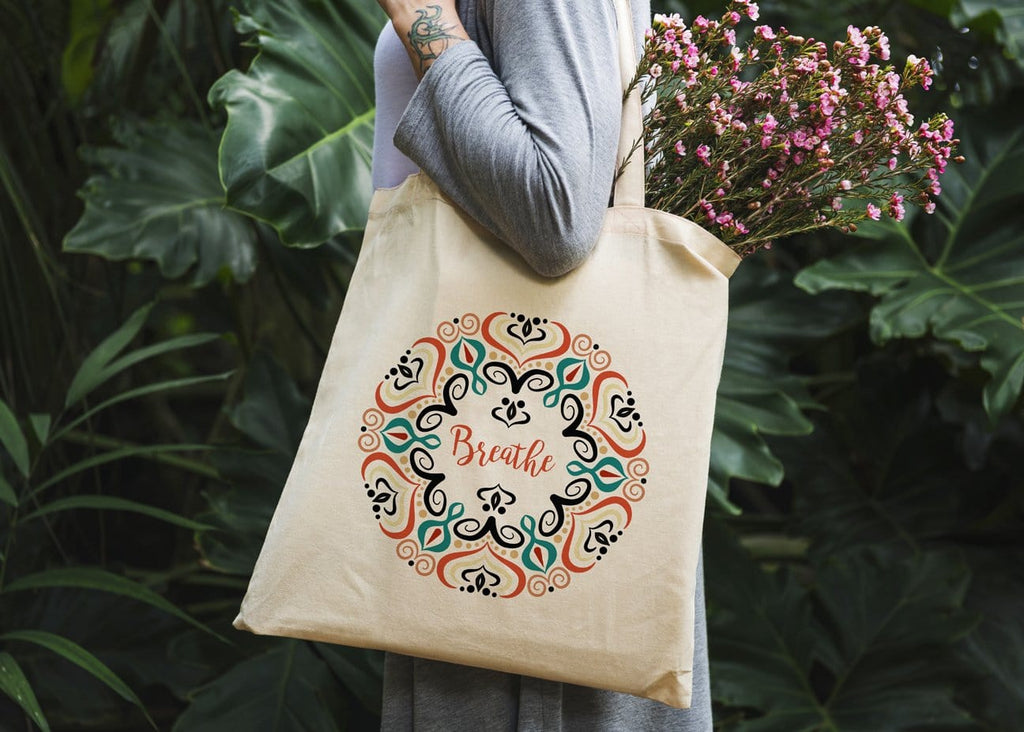 Breathe Tote Bag - Potter's Printing