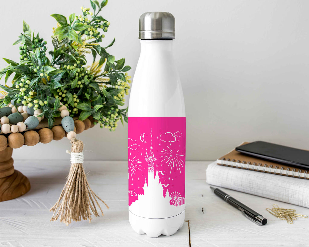 Castle Stainless Steel Water Bottle