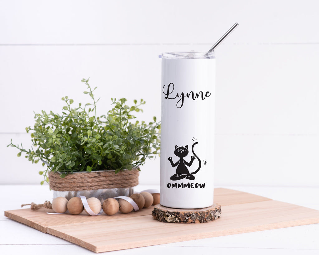 Cat Personalized Stainless Steel Tumbler