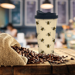 Bees Coffee Tumbler - Potter's Printing